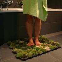 שטיח אמבט אורגני עשוי מטחב