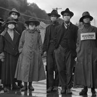 תמונות היסטוריות של השפעת הספרדית מ 1918 שמראות איך נראתה מגיפה כמו הקורונה לפני מאה שנה.