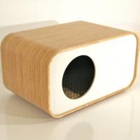 בית מודרני לחתול או לכלב קטן