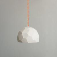 מנורה פוליגונית תלויה עשוי