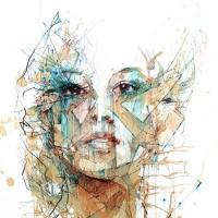 האומן Carne Griffiths יוצר ציורים
