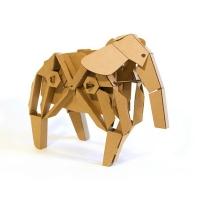 חיות תלת מימדיות להרכבה עם יכולת תנועה