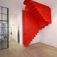 עיצוב יצירתי במיוחד לגרם מדרגות
