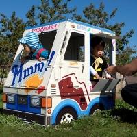 אוטו גלידה מקסים לילדים עם...