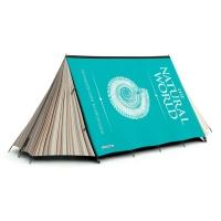 אוהל מעוצב בצורה של ספר עד ל