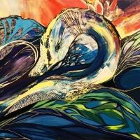 אומנות צבעונית של טאיה בנה