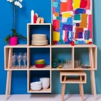 סדרת רהיטים בהשראת קופסאות