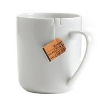 ספל לתה עם חריצים מיוחדים ל