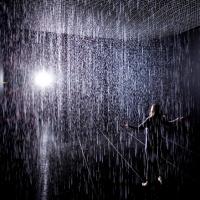 חדר גשם בגודל 100 מטר רבועי ב