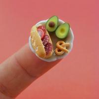 יצירות מיניאטוריות של אוכל