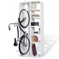 כוננית ספרים עם מקום לתלית
