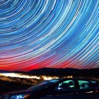 סרט מרתק על תנועת הכוכבים בשמיים