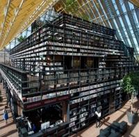 ספריה עירונית בהולנד הבנוי