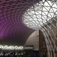 ארכיטקטורה יפייפיה של תחנת